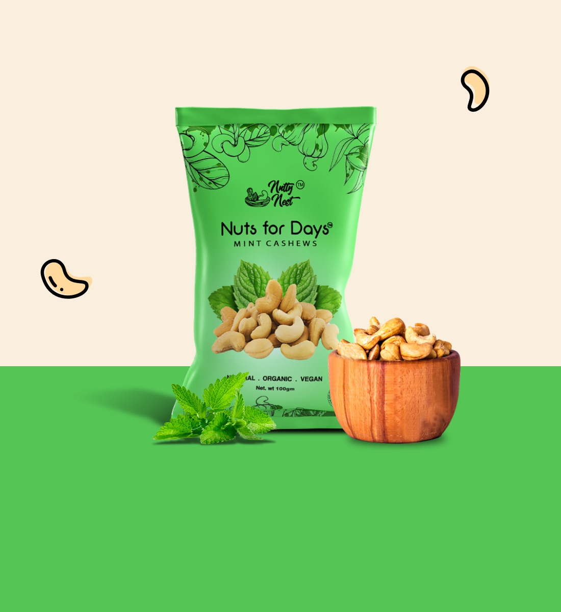 MINT CASHEWS